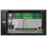 """NEW! - In-Dash Navigation AV Receiver with 6.2"""" WVGA Touchscreen Display"""