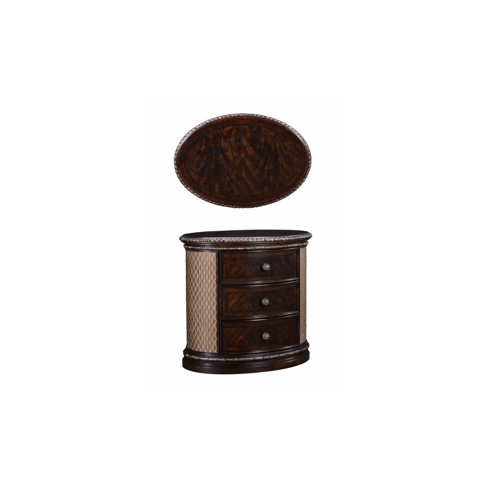 Gables Oval Nightstand