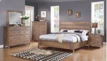 Viewpoint - 6 Piece Queen Slat Bed Set