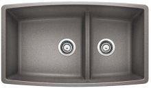 Blanco Performa 1-3/4 Medium Bowl - Metallic Gray