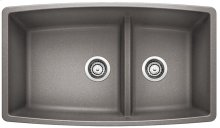 Blanco Performa 1-3/4 Medium Bowl - Metallic Gray