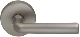 Interior Modern Lever Latchset in (US15 Satin Nickel Plated, Lacquered)