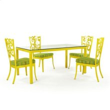 Francesca Rect. Dining, Outdoor