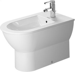 White Darling New Bidet Floorstanding Product Image