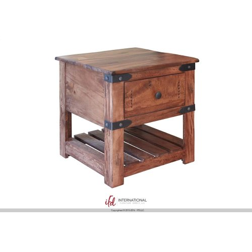 Cocktail Table w/4 Drawers & Wheels