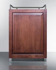 Built-in Undercounter Frost-free Beer Dispenser With Panel-ready Door and Digital Thermostat; Sold Without Tap Kit for Do-it-yourselfers Who Install Their Own Systems