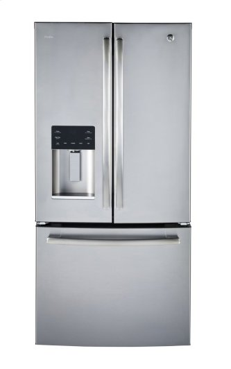 ENERGY STAR® 17.5 CU. FT. COUNTER DEPTH FRENCH-DOOR ICE & WATER REFRIGERATOR