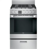 """24"""" 2.9 Cu. Ft. Gas Free-Standing Range with Convection and Modular Backguard Product Image"""