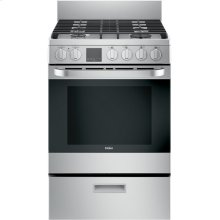 "24"" 2.9 Cu. Ft. Gas Free-Standing Range with Convection and Modular Backguard"