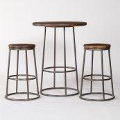 Loft Pub Table and 2 Loft Bar Stools