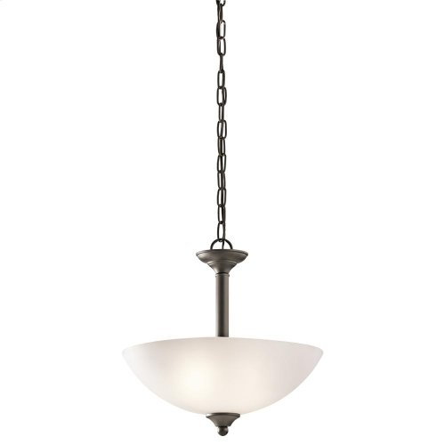 Jolie Collection Jolie 2 light Pendant/Semi Flush NI