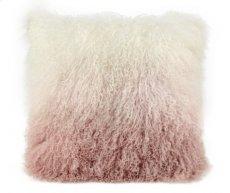 Tibetan Sheep Pillow White to Blush Product Image