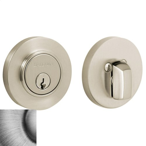 Matte Antique Nickel Contemporary Deadbolt