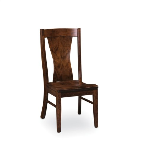 Joseph Side Chair, Fabric Cushion Seat