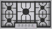 """36"""" Gas Cooktop 800 Series - Stainless Steel NGM8654UC"""