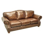 Rustic Rust Sofa Product Image