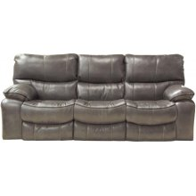 Reclining Gliding Console Loveseat