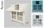 Avery Accent Desk - Dove Product Image