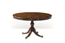A Mahogany Circular Breakfast / Dining Table