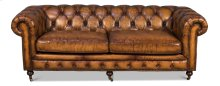 Chesterfield Sofa, Wisconsin Leather
