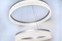Saturn 2-Tier LED Pendant
