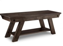 """Algoma 48"""" Bench in Fabric or Bonded Leather"""