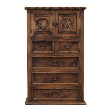 Medio Country Chest W/ Rope and Star