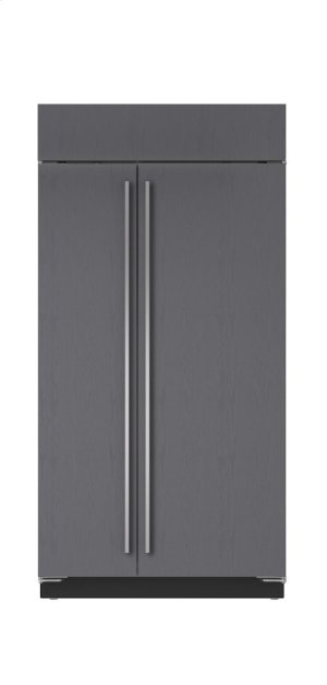 "42"" Built-In Side-by-Side Refrigerator/Freezer - Panel Ready"