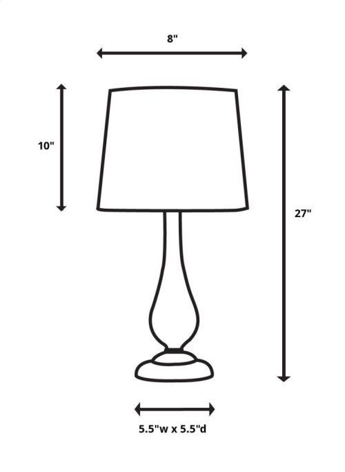 Briley Table Lamp, 2 Per Box