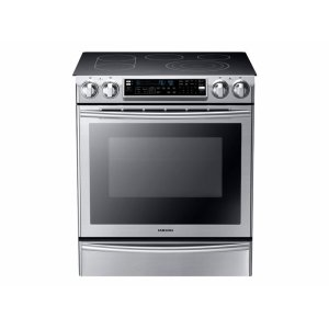 Samsung5.8 cu. ft. Slide-In Electric Range with Flex Duo Oven