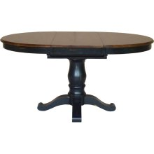 Extension Table Top & Base in Espresso & Aged Ebony