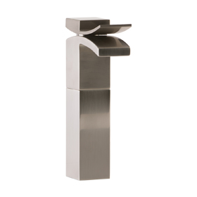 Vessel Lav Faucet High - Brushed Nickel