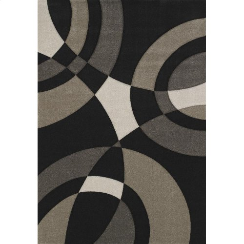 Townshend Smash Black Rugs