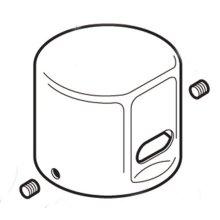Commercial dc flush valve cap