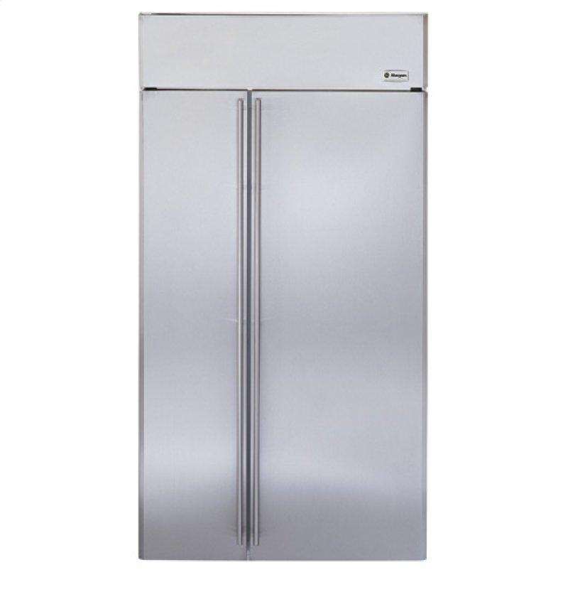 Ge Monogram 42 Built In Side By Refrigerator
