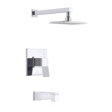 Brushed Nickel COMING SUMMER 2019 - Avian Tub & Shower Trim Kit, 1.75gpm