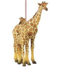 Giraffe with Calf Ornament.