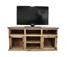 "72"" 2 Glass Door TV Stand"