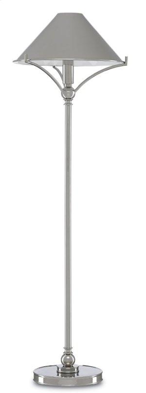 Maarla Nickel Table Lamp