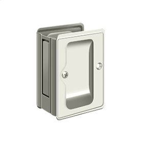 "HD Pocket Lock, Adjustable, 3 1/4""x 2 1/4"" Passage - Polished Nickel"