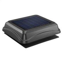 Curb Mount, Solar Powered Attic Ventilator in Black