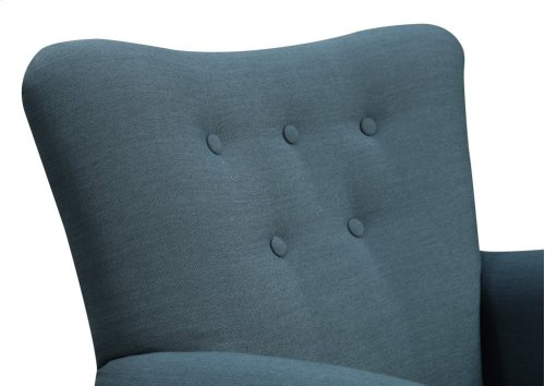 Emerald Home Lydia Accent Chair Navy U360-05-14