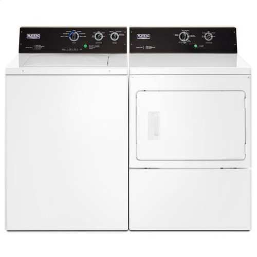 Maytag® 3.5 cu. ft. Commercial-Grade Residential Agitator Washer - White