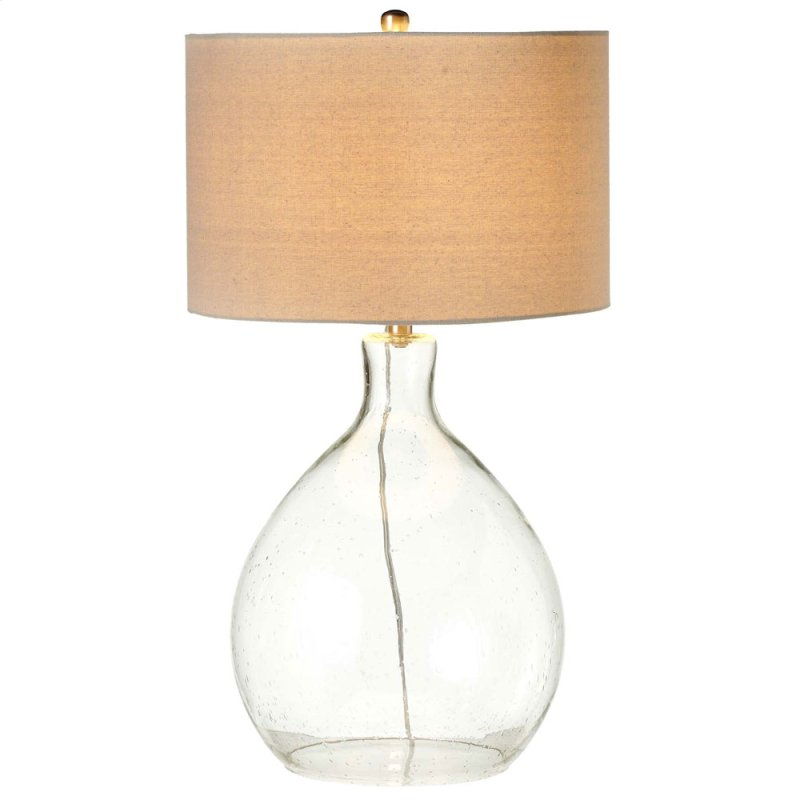 158927 In By Midwest Cbk In Oversized Bubble Glass Table Lamp