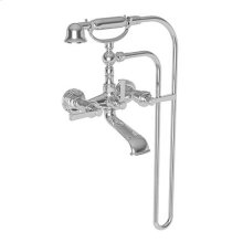 Forever Brass - PVD Exposed Tub & Hand Shower Set - Wall Mount