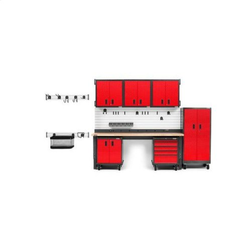 Gladiator® Premier Pre-Assembled Modular GearBox - Red Tread