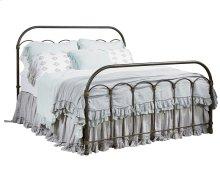 Blackened Bronze Colonnade Metal Queen Bed