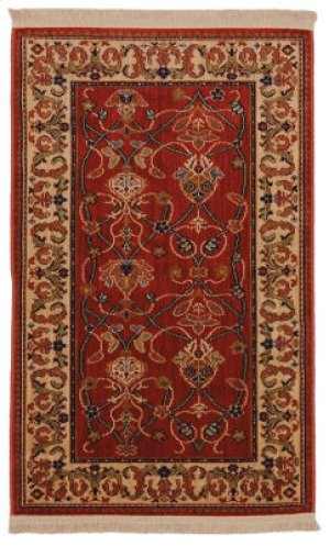 William Morris Red Rectangle 2ft 6in X 4ft