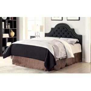 Ojai Traditional Charcoal Upholstered King Headboard