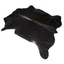 Watusi Black - Hair On Hide - Black - Hair On Hide